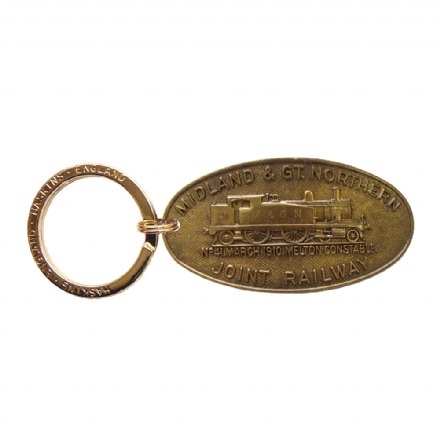 Midland and Great Northern Joint Railway (M&GNR) Key Ring